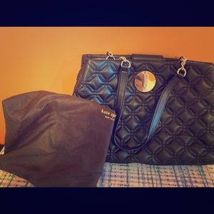 Black Kate Spade shoulder bag